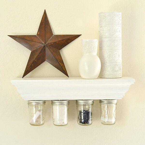 Dream a Little Bigger Magnetic Mason Jar Storage, Mason Jar Organizing Ideas via Refresh Restyle