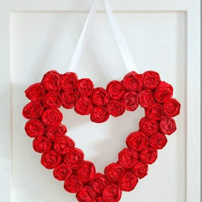 Valentines Wreaths and Door Decor