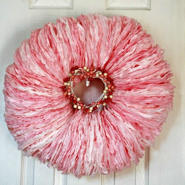 Miss Frugal Fancy Pants, Valentines Wreaths and Door Decor via Refresh Restyle