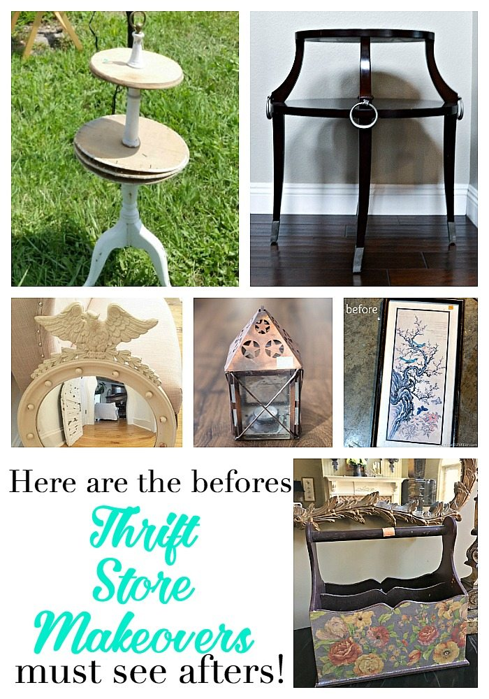 Must see thrift store makeovers