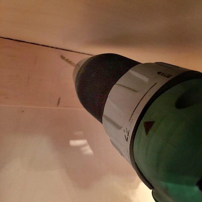 Pre-drill for closet hooks