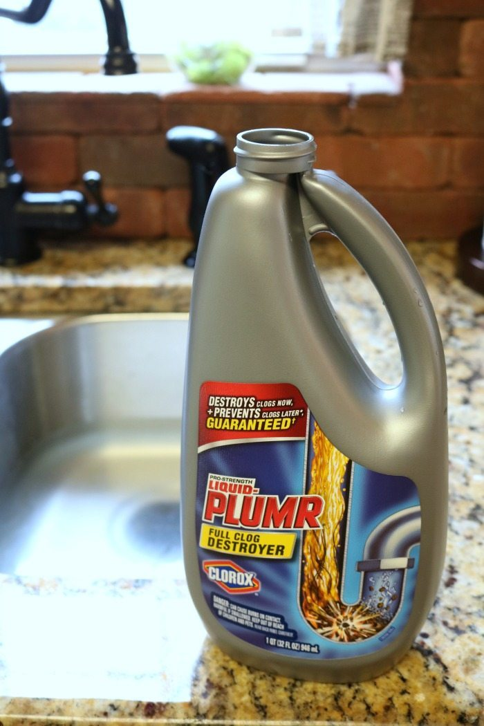 Slow drain - use Liquid Plumr to keep things flowing