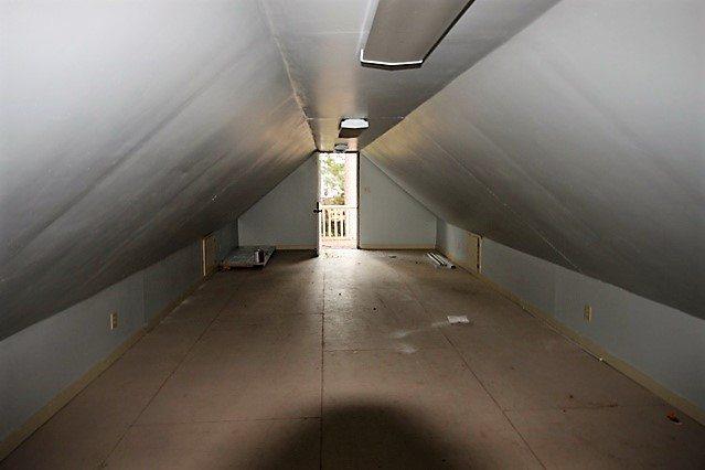 Storage above garage