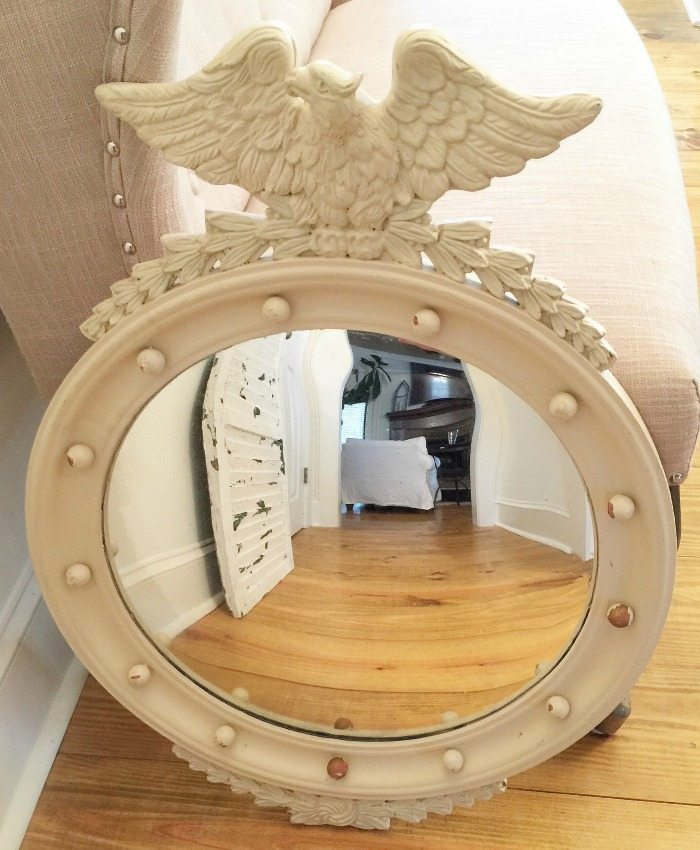 Thrifty Mirror - before makeover