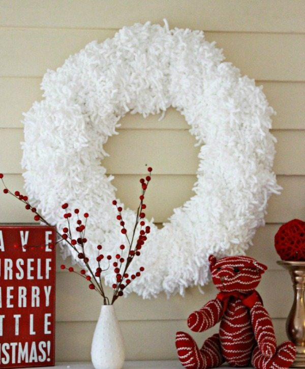 View from the Fridge, Valentines Wreaths and Door Decor via Refresh Restyle