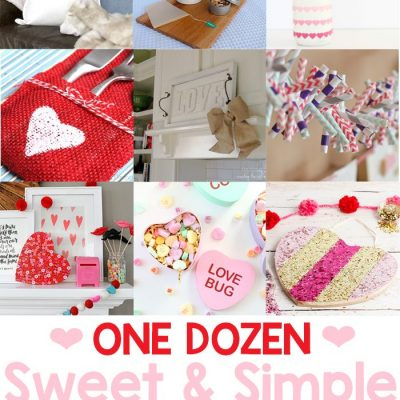 Valentine's Crafts + Inspiration Monday