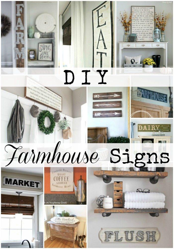 DIY Farmhouse Signs
