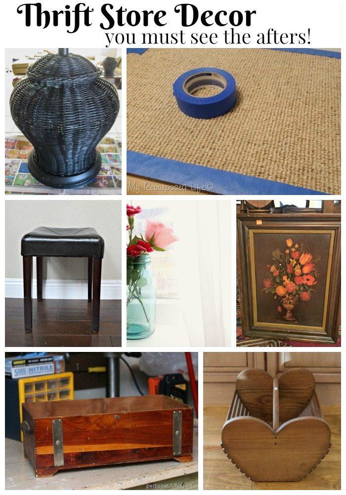 Amazing Thrift store decor makeovers