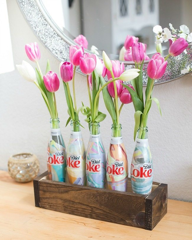 Blooming Homestead, Spring Centerpieces via Refresh Restyle