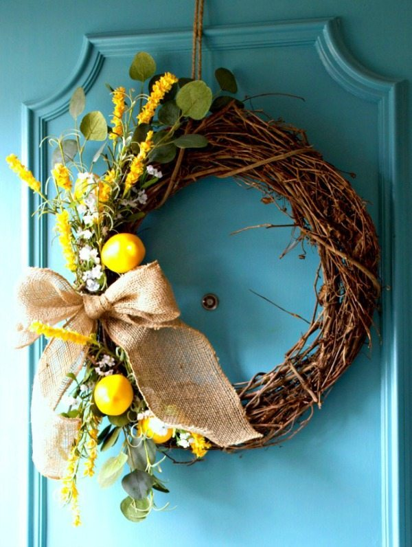 Chatfield Court, Spring Wreaths and Door Decor via Refresh Restyle