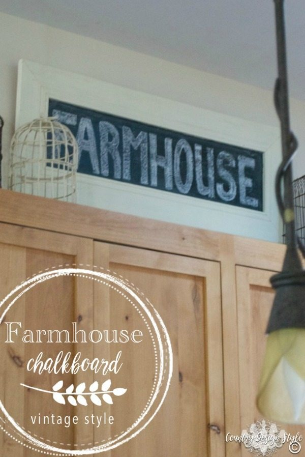 Country Design Style, DIY Farmhouse Signs via Refresh Restyle