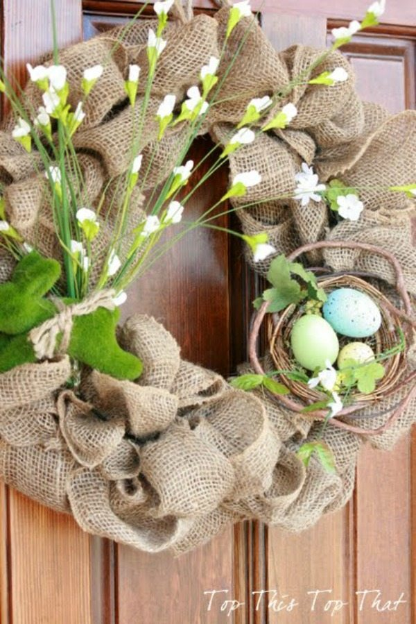 Duke Manor Farm, Spring Wreaths and Door Decor via Refresh Restyle