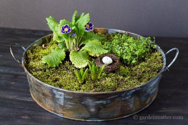 Garden Matter. Spring Centerpieces via Refresh Restyle