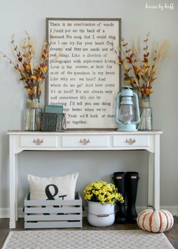 House by Hoff, DIY Farmhouse Signs via Refresh Restyle