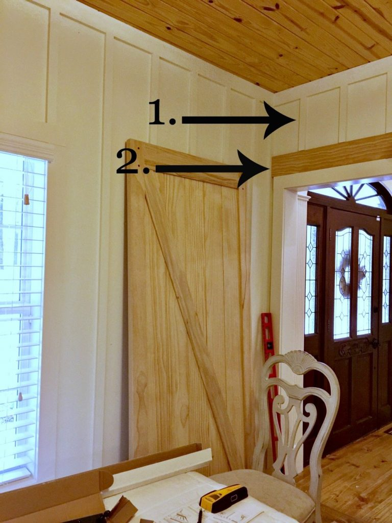 How to add a barn door to a board and batten wall