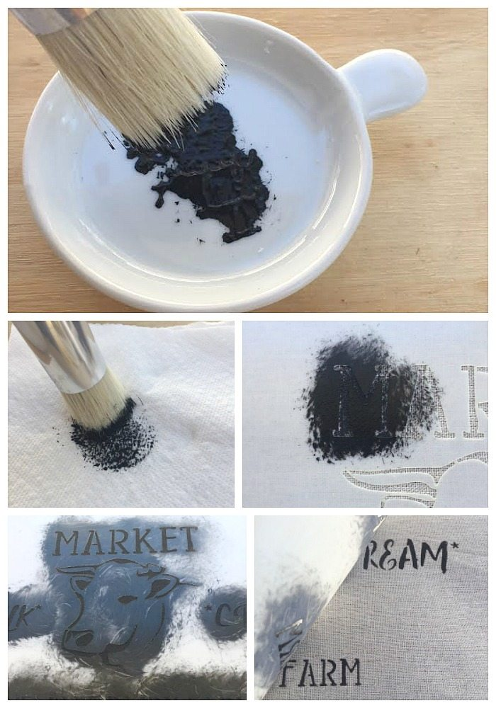 How to stencil on fabric to make it crisp