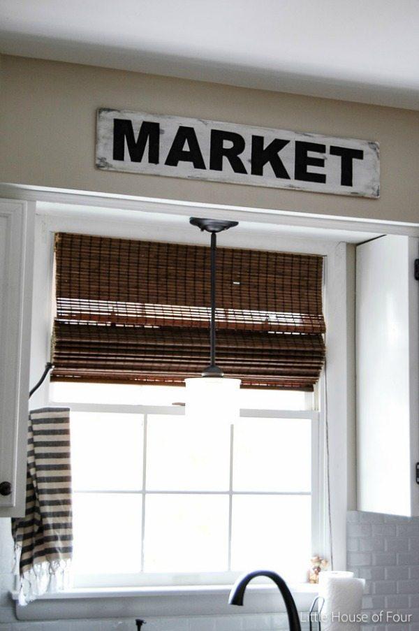 Little House of Four, DIY Farmhouse Signs via Refresh Restyle