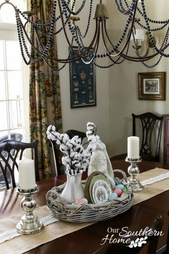 Our Southern Home, Spring Centerpieces via Refresh Restyle