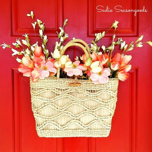 Sadie Seasongoods, Spring Wreaths and Door Decor via Refresh Restyle