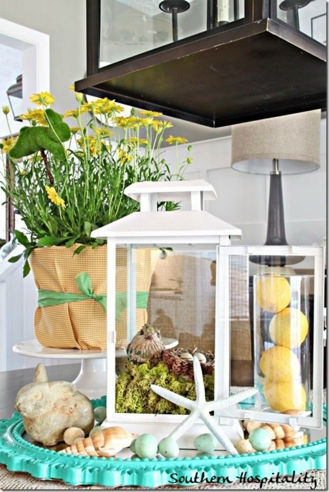 Southern Hospitality, Spring Centerpieces via Refresh Restyle