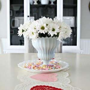 Quick Valentines Table Idea