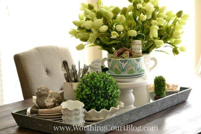 Worthing Court Blog, Spring Centerpieces via Refresh Restyle