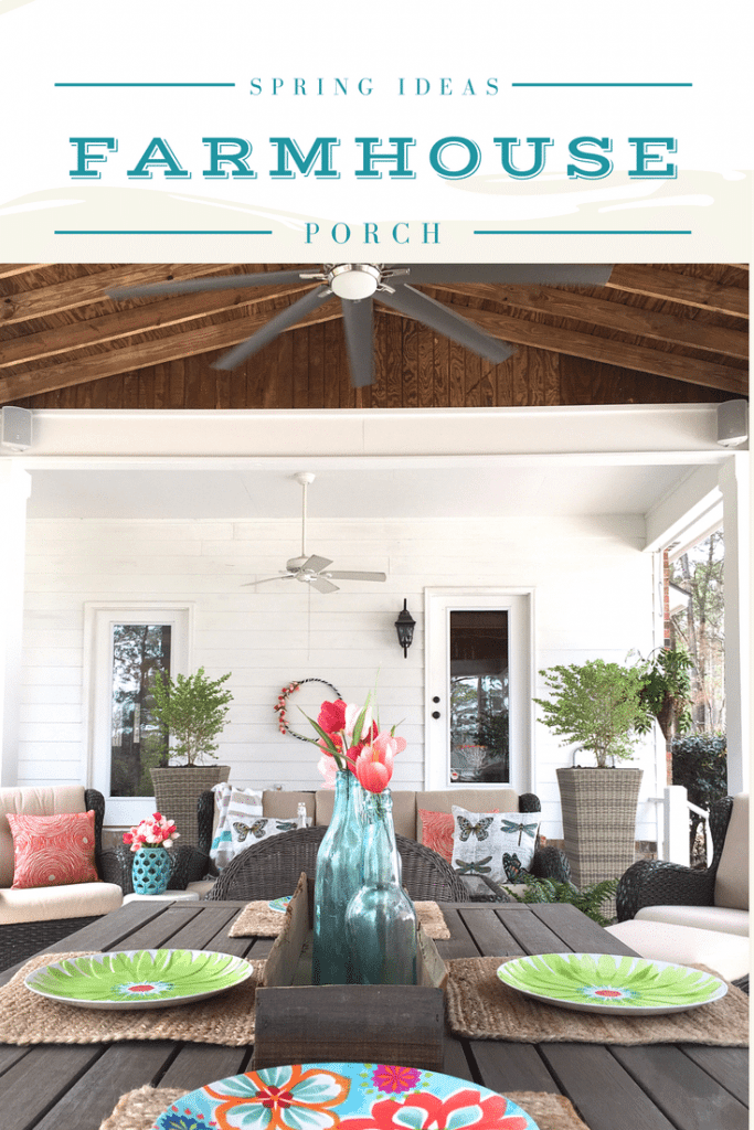 Spring Decor Ideas Farmhouse Porch Colorful For