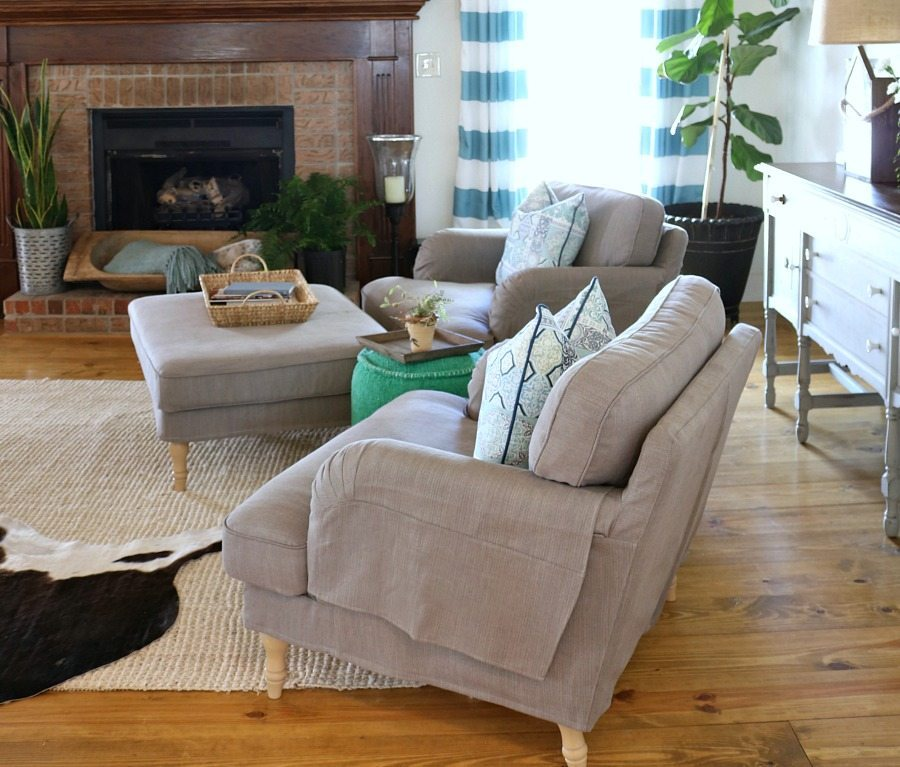 Refresh Restyle spring home tour