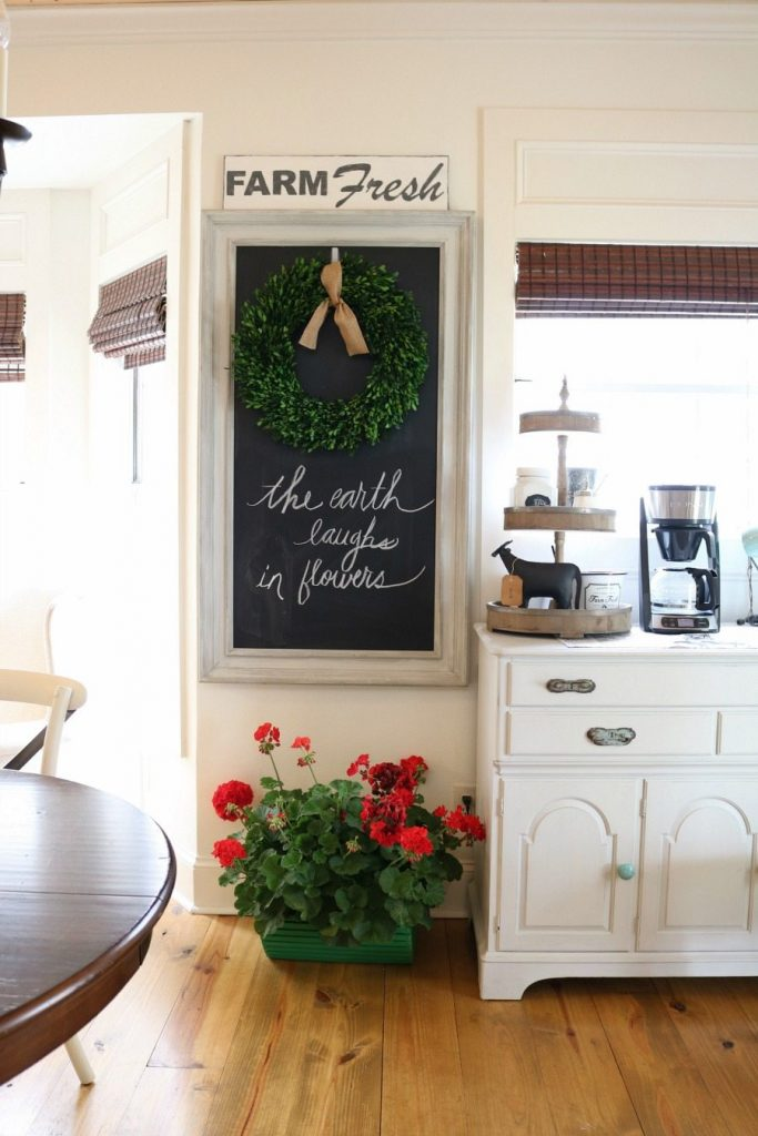 Spring home tour Refresh Restyle