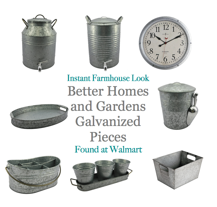 Better Homes and Gardens Galvanized Farmhouse Look