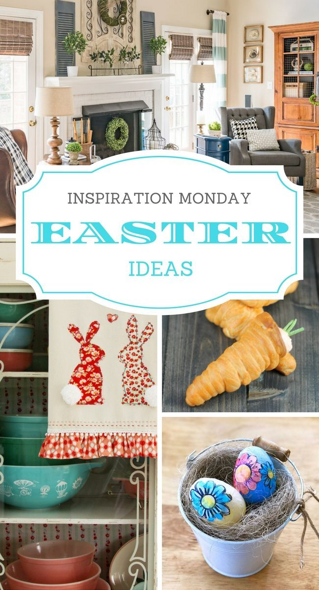 Easter Ideas + Inspiration MondayEaster Ideas for the Home