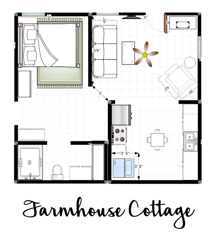 Farmhouse Cottage Plans