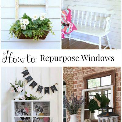 Repurposed Window – Window Box