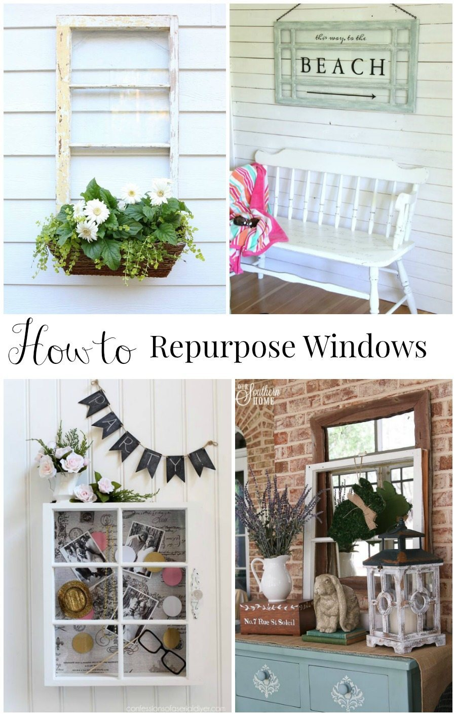 ow to repurpose old windows