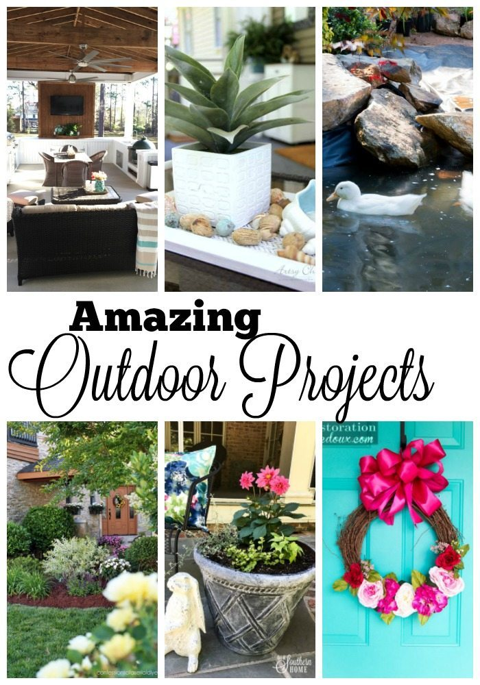 Amazing outdoor projects for you to try