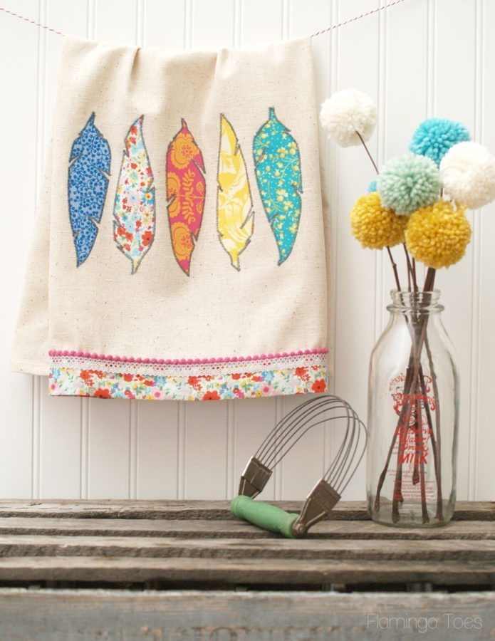 DIY-Fabric-Feather-Dishtowel-695x900