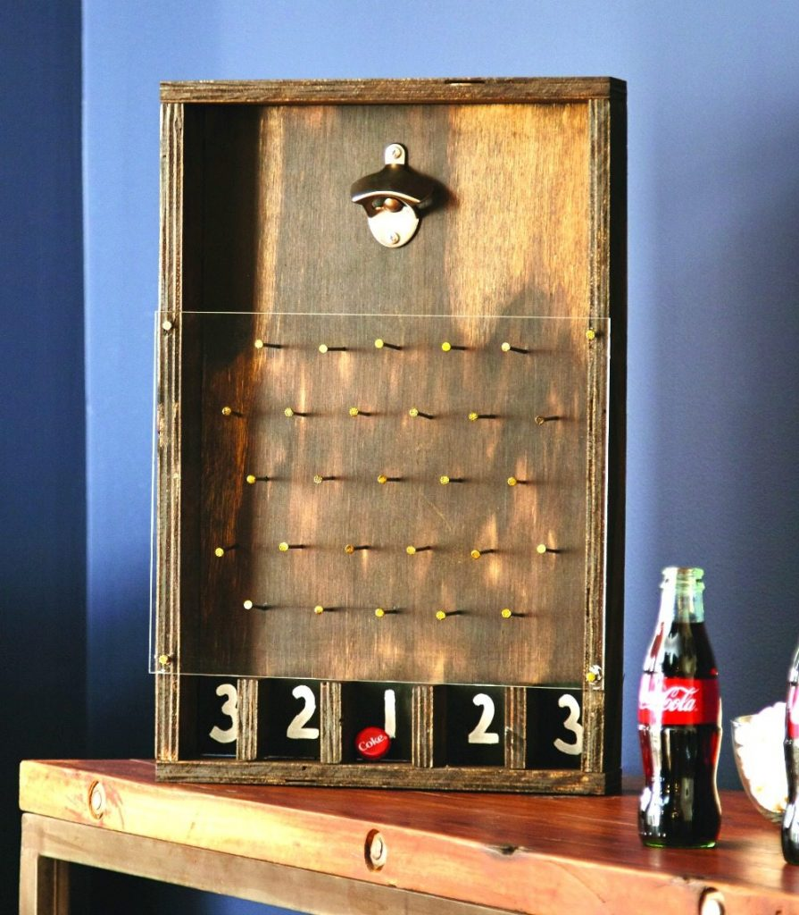 bottle opener game home depot diy refresh restyle. Black Bedroom Furniture Sets. Home Design Ideas