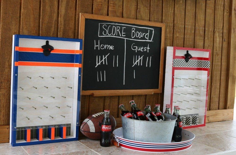 Auburn Alabama DIY Bottle Opener Game instructions at Refresh Restyle