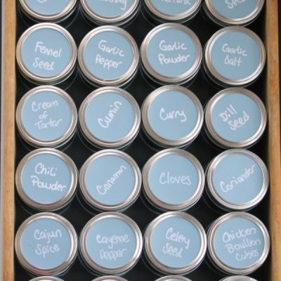 Mason Jar Organizing Ideas