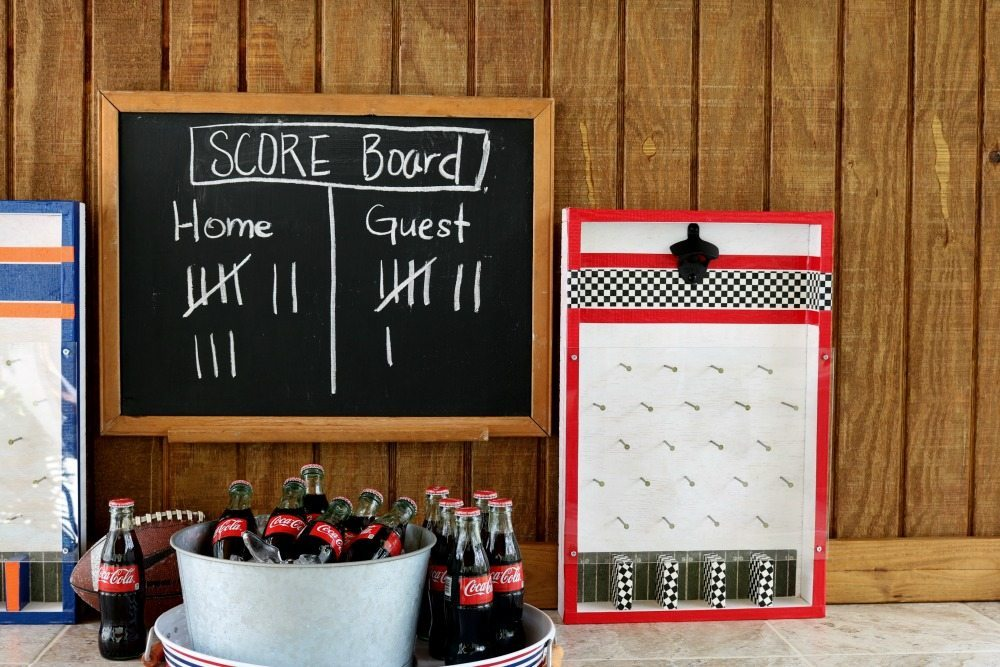 DIY Game time with this bottle opener game at Refresh Restyle