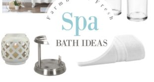 farmhouse fresh spa ideas for your bath from better homes and gardens at walmart - Better Homes And Gardens Archives