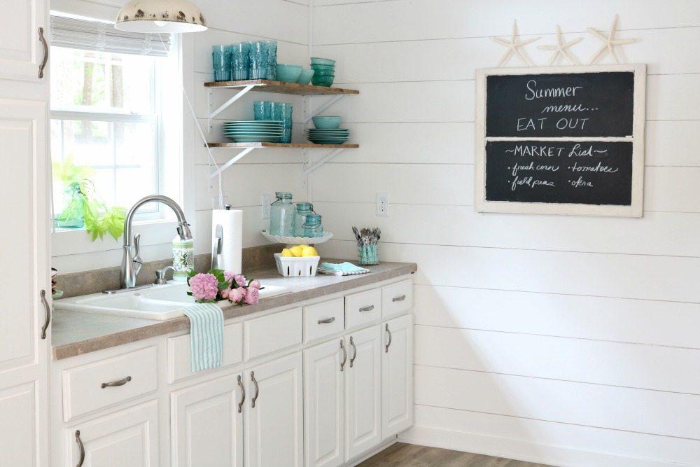 Ideas for a small farmhouse cottage kitchen