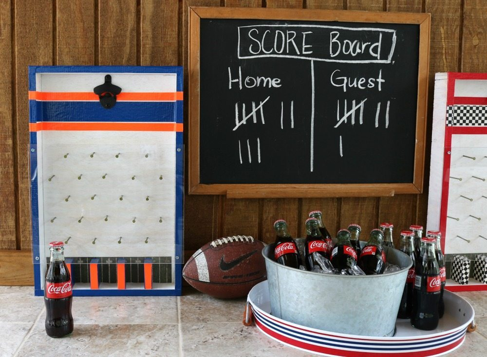 Make opening a bottle a game with this bottle opener game DIY at Refresh Restyle