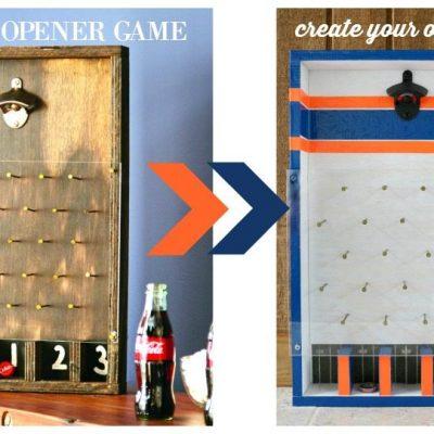 Auburn Alabama Bottle Cap Game
