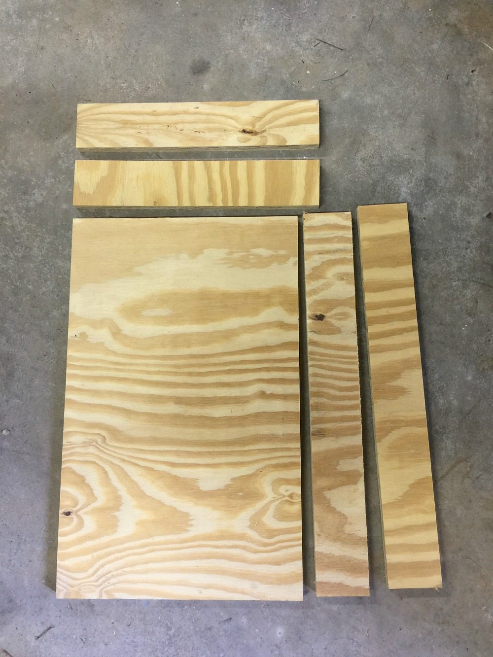Pieces to make a bottle opener game at Refresh Restyle