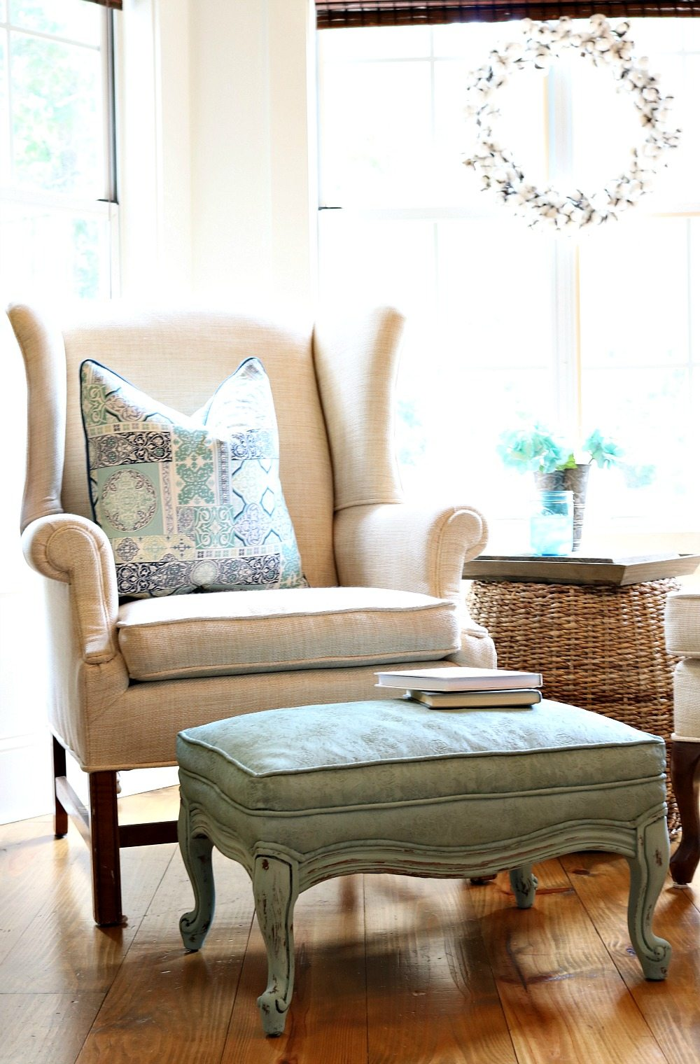 You can paint fabric and make it feel good