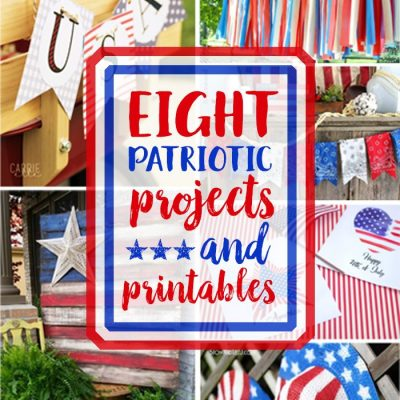 Red, White & Blue Projects + Inspiration Monday