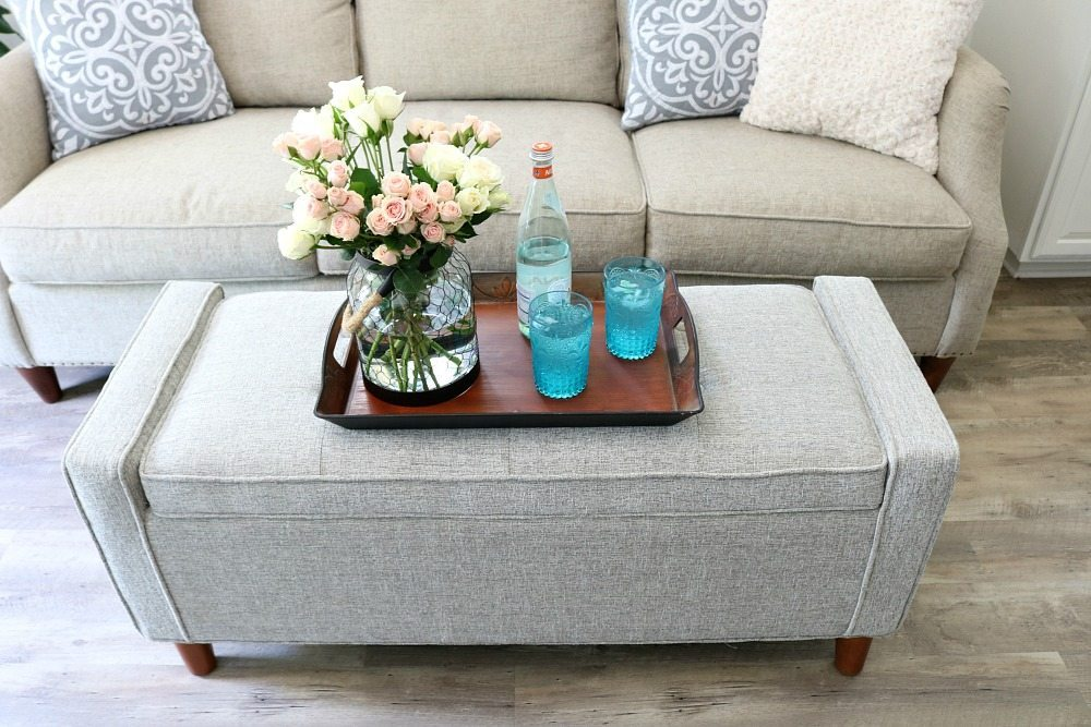 Farmhouse Cottage Living Room Refresh Restyle