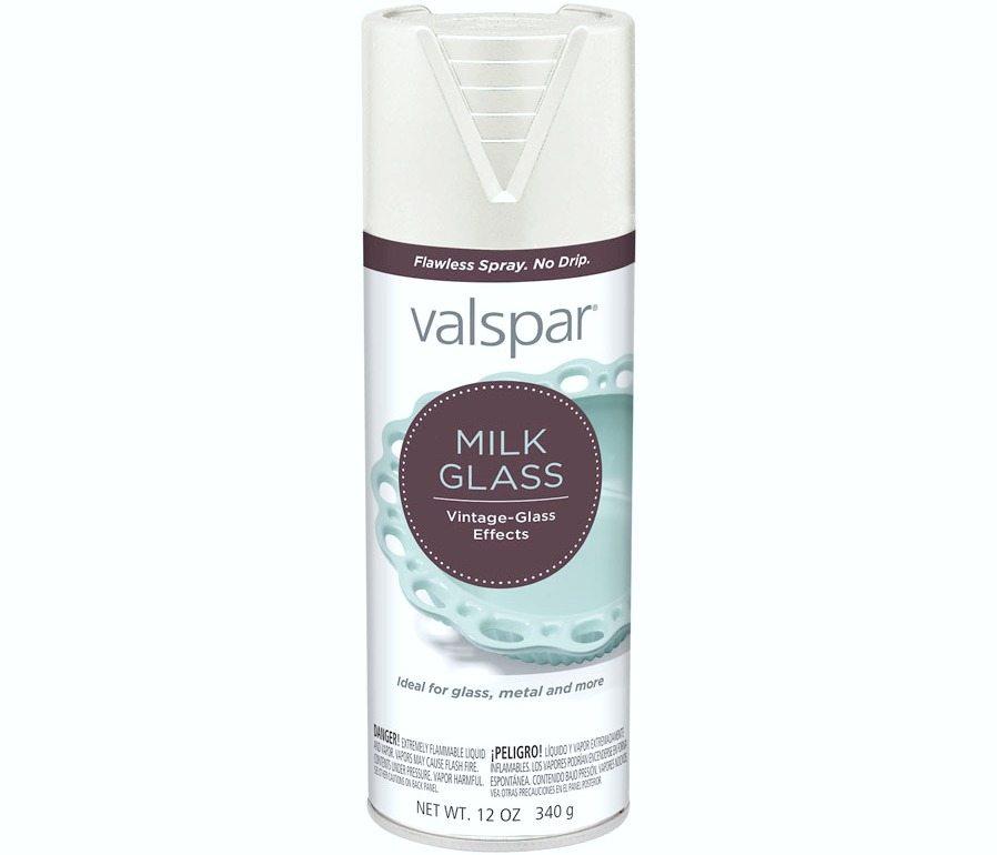 Valspar Milk Glass