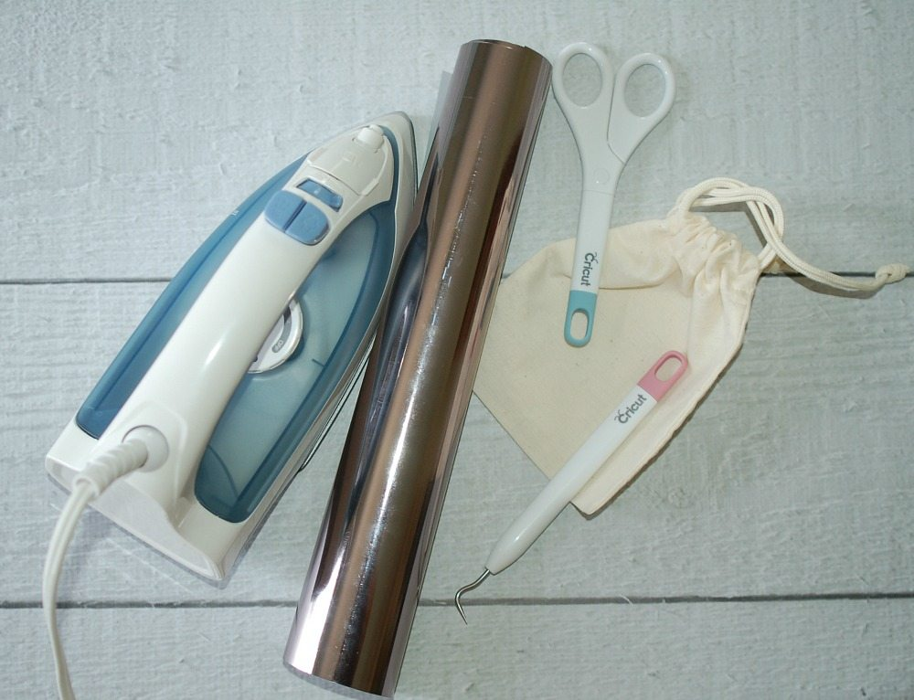 Basic supplies for crafting with the Cricut fun and easy